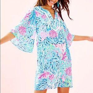Lilly Pulitzer NWT Delancy Dress Sink or Swim